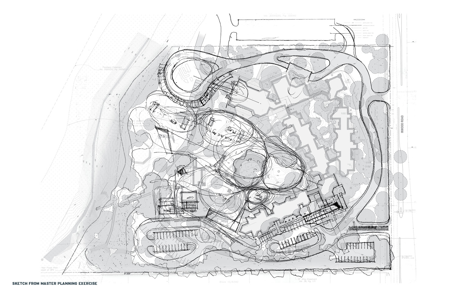 Sketch From Master Planning Exercise Marlon Blackwell Architects}