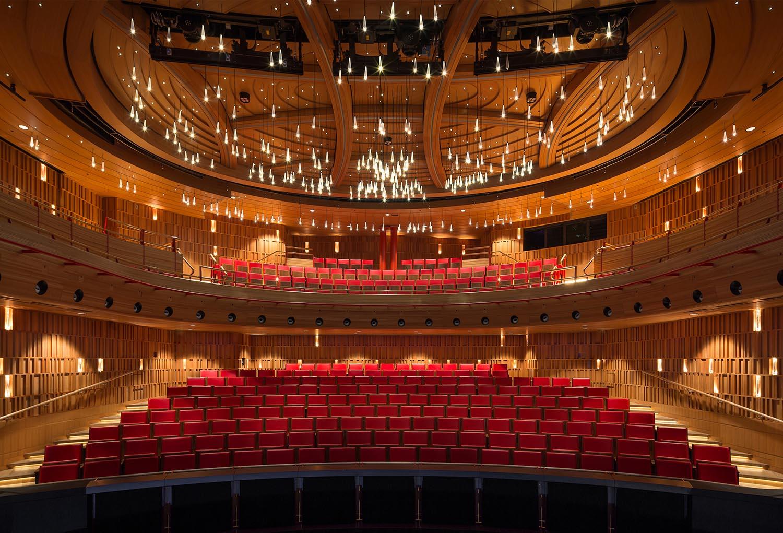 Susie Sainsbury Theatre - View from Stage Adam Scott