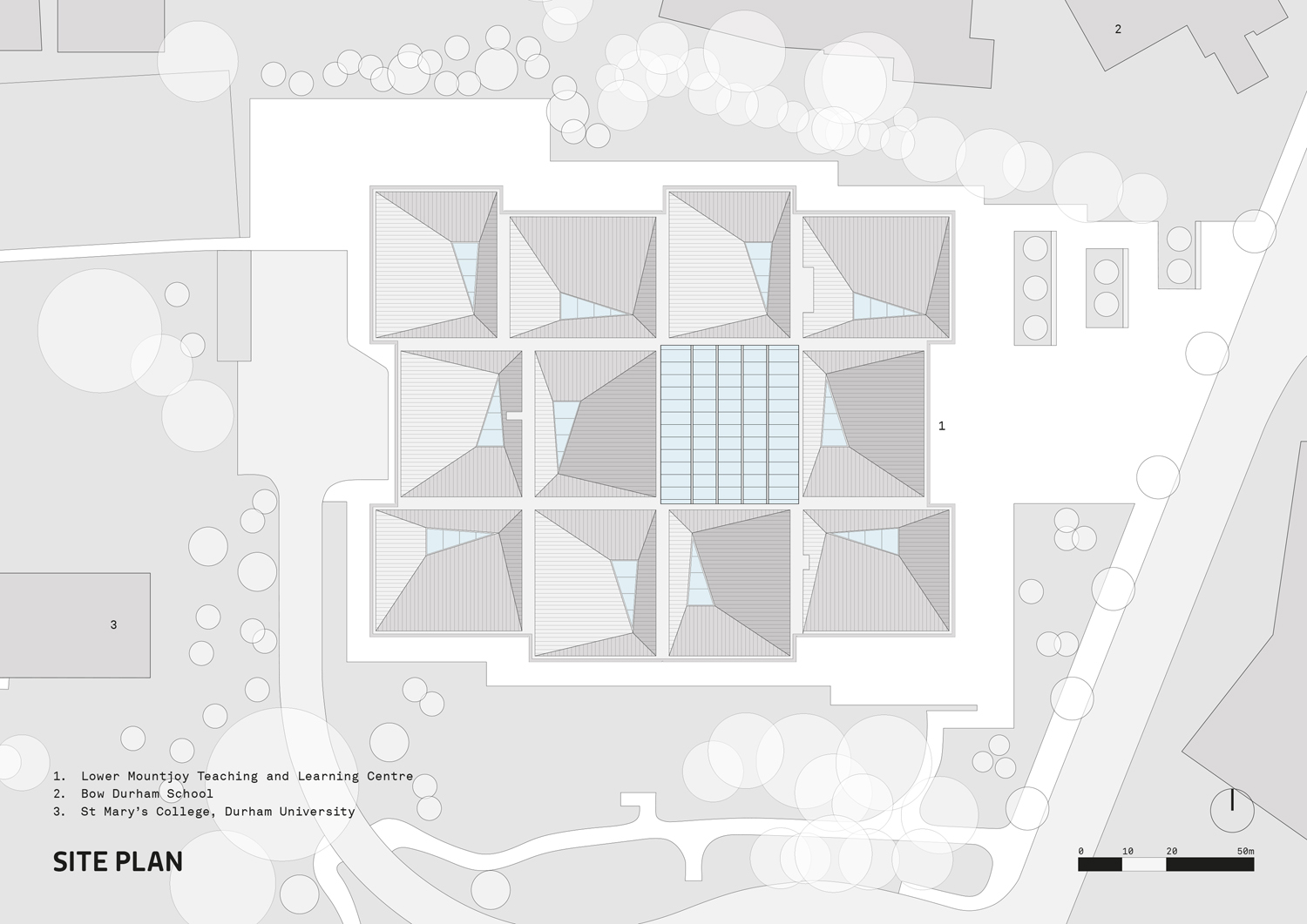 Site Plan FaulknerBrowns Architects}