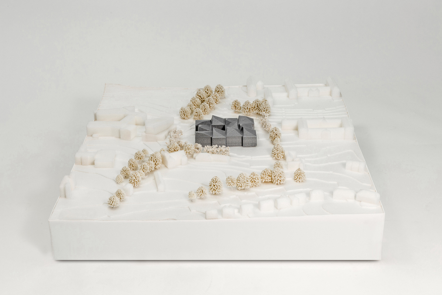 Concept Model FaulknerBrowns Architects}