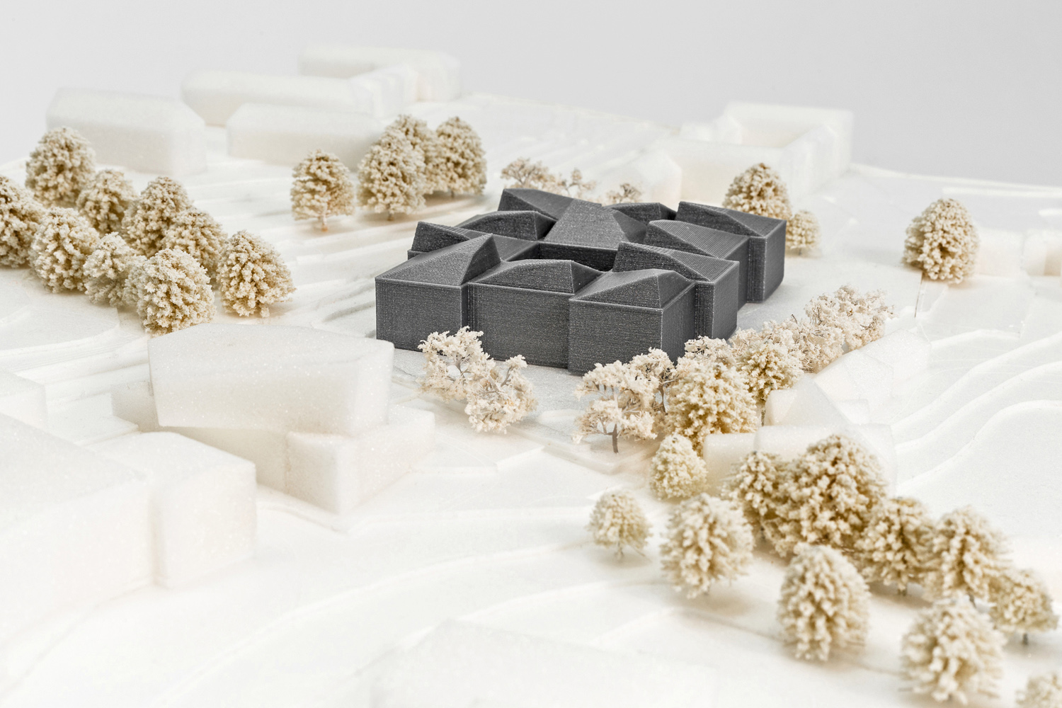Concept Model III FaulknerBrowns Architects}