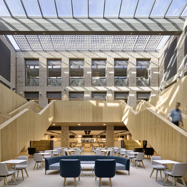 Top-lit internal courtyard David Cadzow