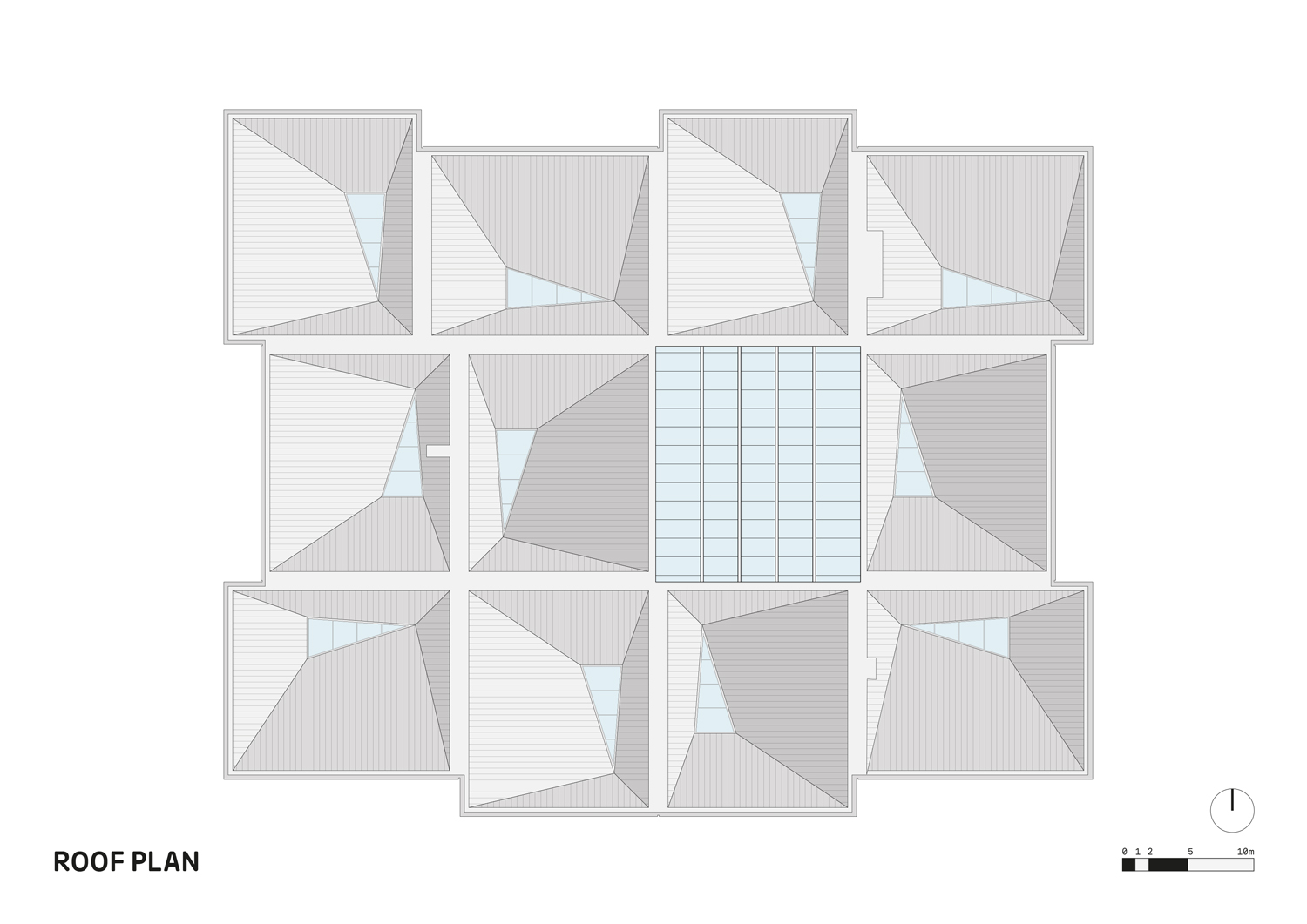 Roof Plan FaulknerBrowns Architects}