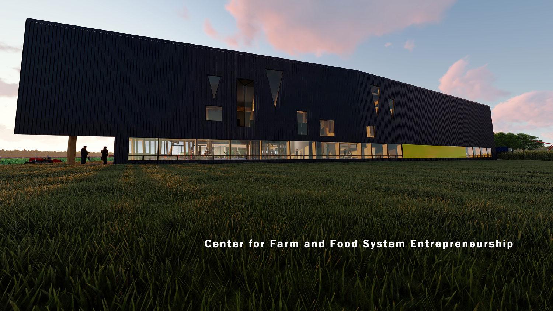 On the university's farms, the Center facilitates training of the next generation of farmers. University of Arkansas Community Design Center}