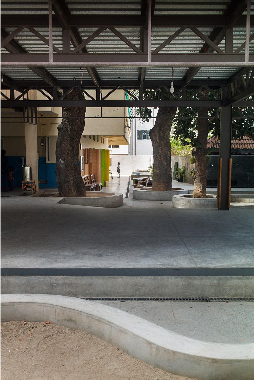 Extension of ground floor plinth Abhishek Dasgupta