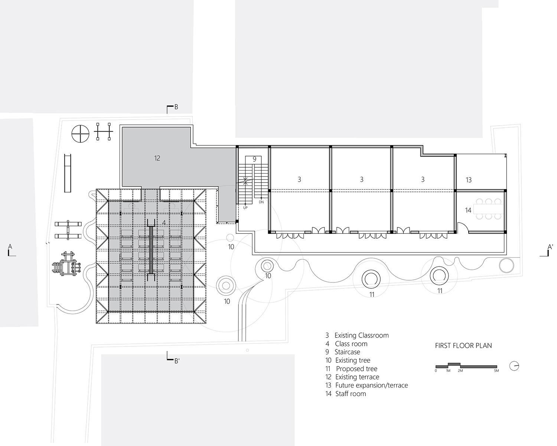 First floor plan MGA}