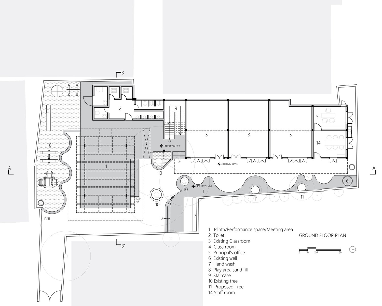 Ground floor plan MGA}