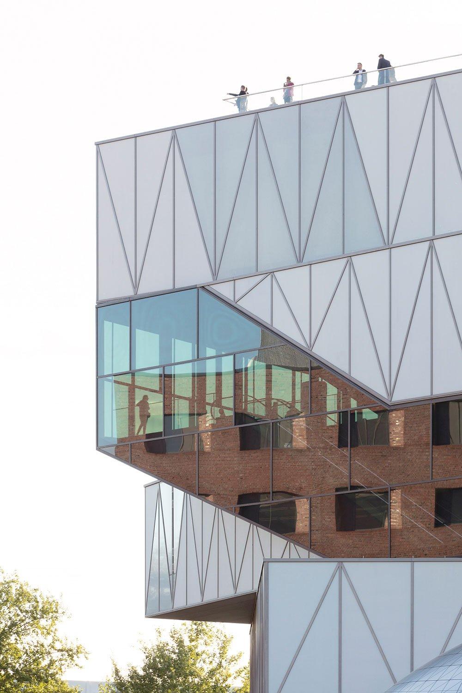 steel and glass façade structure Jan Bitter