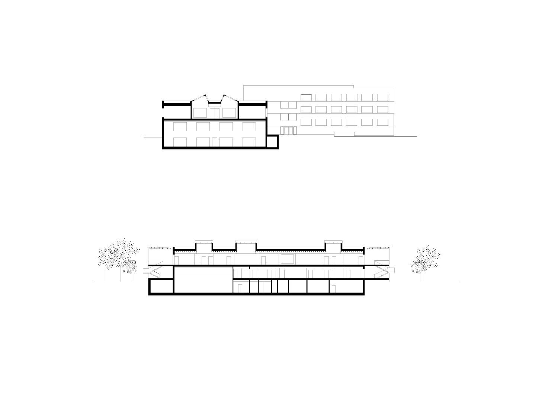 Sections Schenker Salvi Weber Architects}