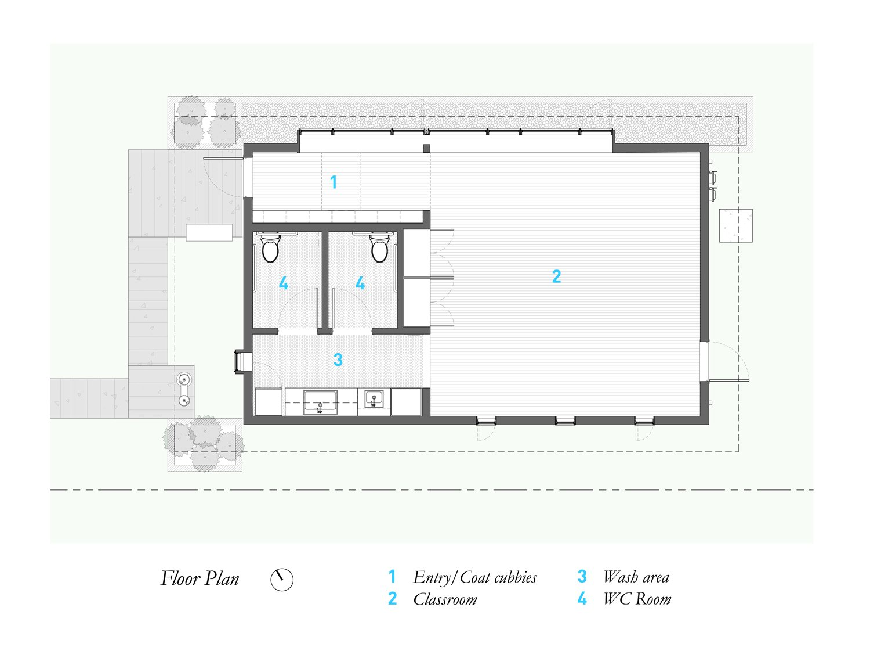 Little Tiger: Floor Plan Murray Legge Architecture}