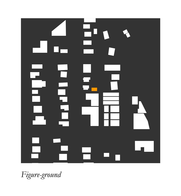 Little Tiger: Site urban context. Murray Legge Architecture}