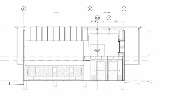 Little Tiger: Longitudinal Section 1 Murray Legge Architecture}