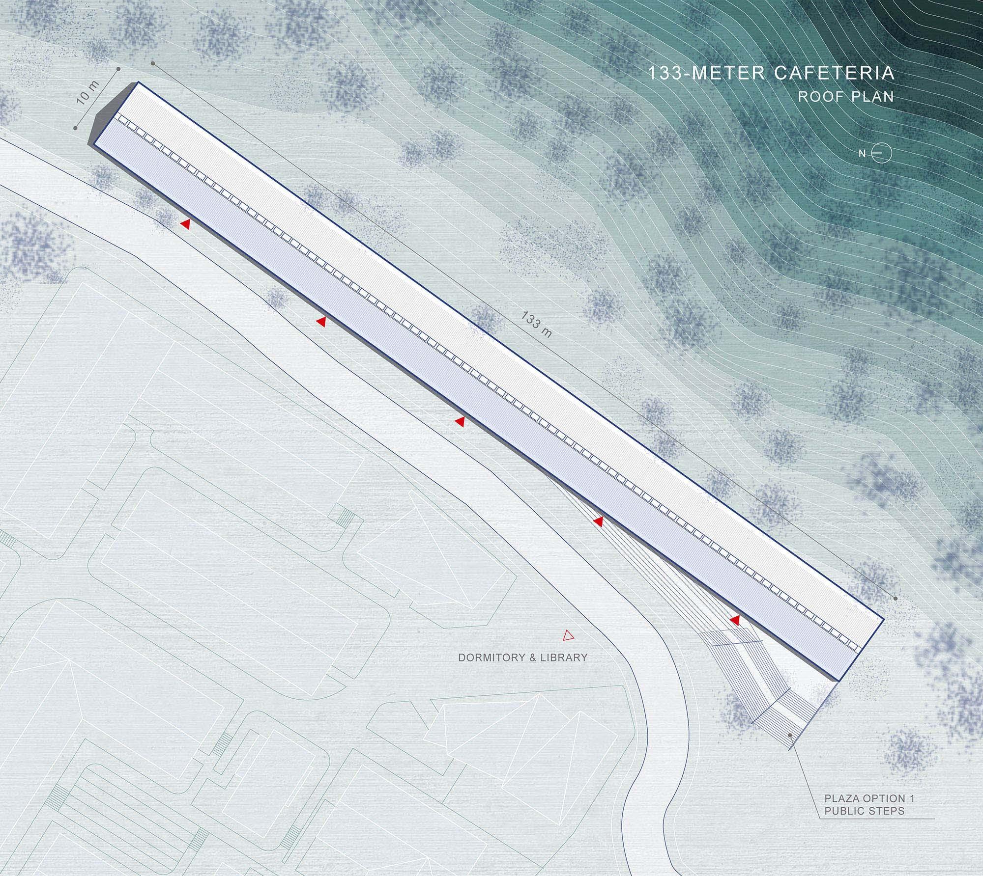 03_EKATO-METER CAFETERIA_Roof Plan STUDIO QI}