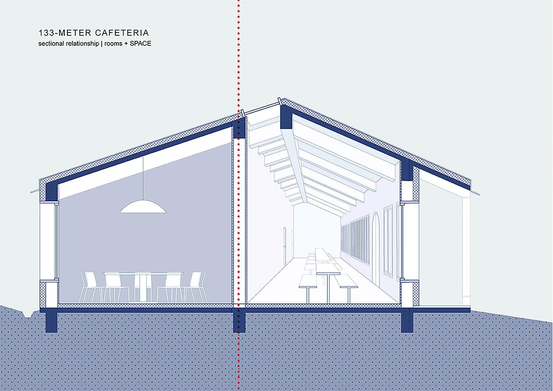 08_EKATO-METER CAFETERIA_Room and Space Diagram STUDIO QI}
