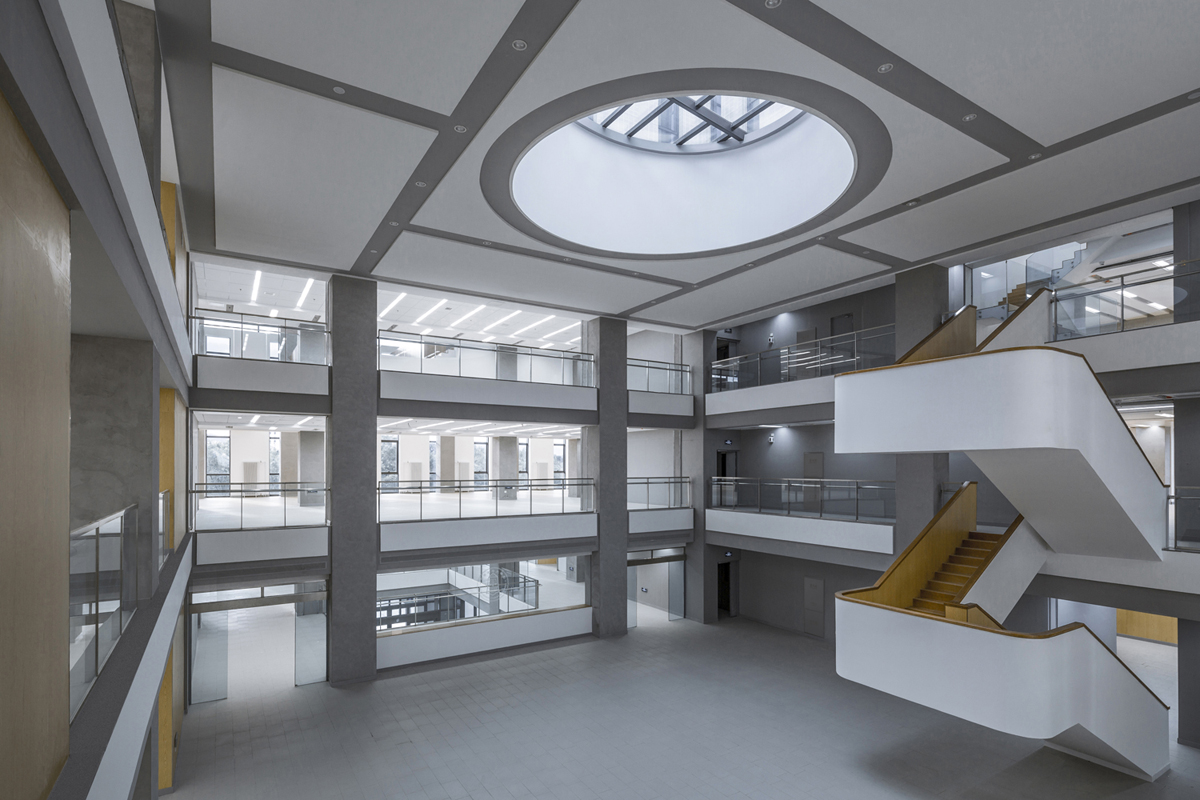 Library Atrium L3 Weiqi Jin