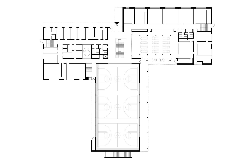 floor plan ground floor SEHW Architektur}
