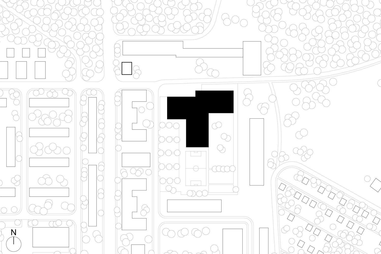 location plan SEHW Architektur}