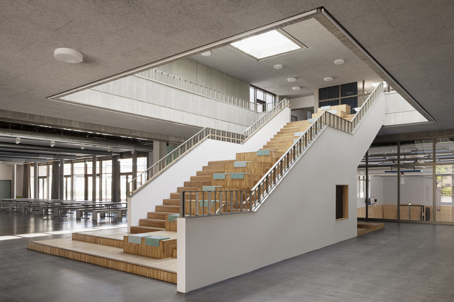 foyer and staircase Philipp Obkircher