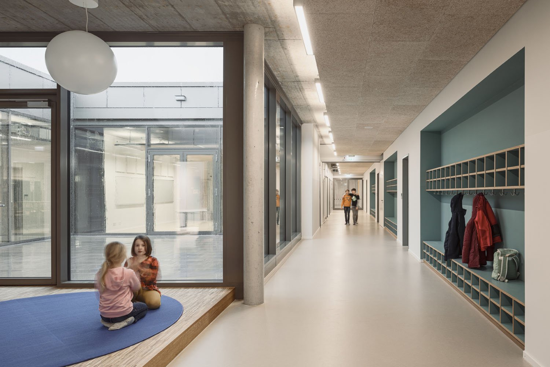 hallway and inner courtyard Philipp Obkircher