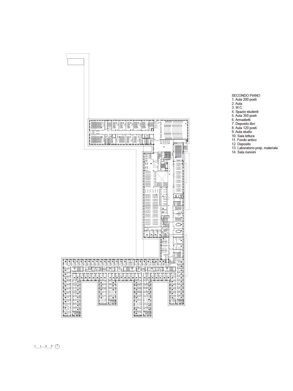 Planimetria Piano 2° Team di progettazione}