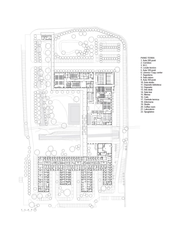 Planimetria Piano terra Team di progettazione}
