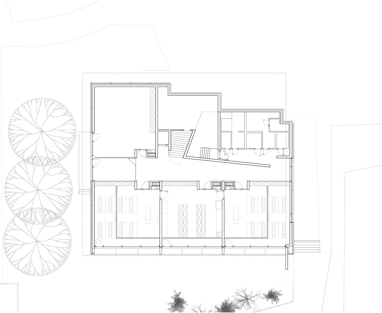 Floor Plan basement Liebel/Architekten BDA}