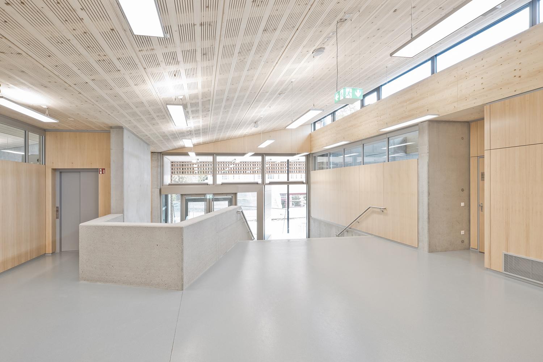 Entrance area Valentin Schmied