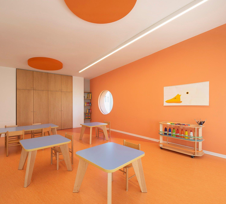 Aula arancione. Carola Merello