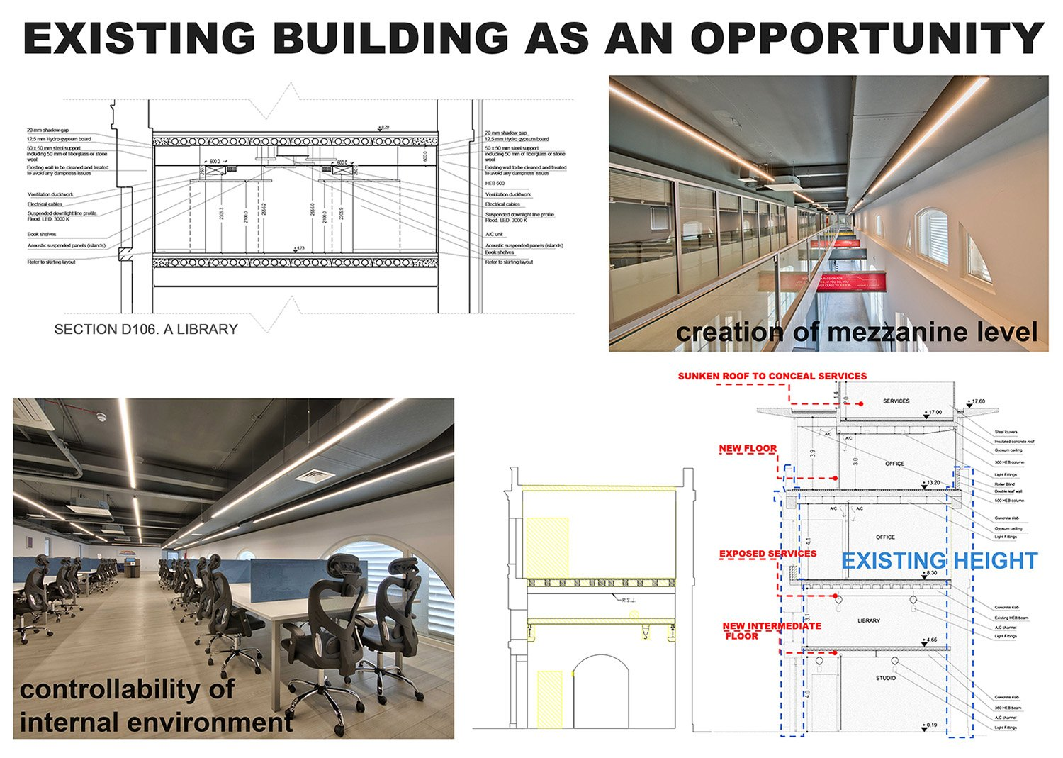 Existing building as an opportunity Edwin Mintoff Architects & Alan Carville}