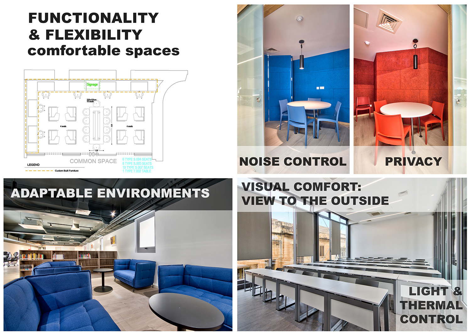 Flexible spaces Edwin Mintoff Architects & Alan Carville}