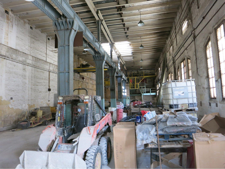 British Building Interior prior to restoration Edwin Mintoff Architects