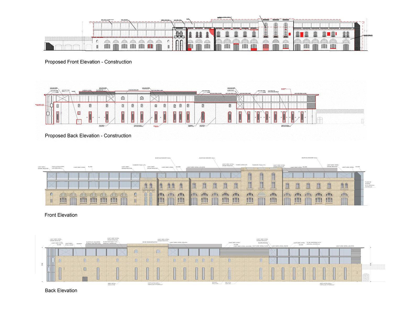 Elevations Edwin Mintoff Architects}