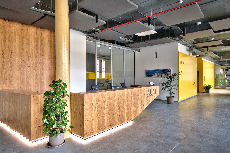 British Building Interior post restoration Alan Carville
