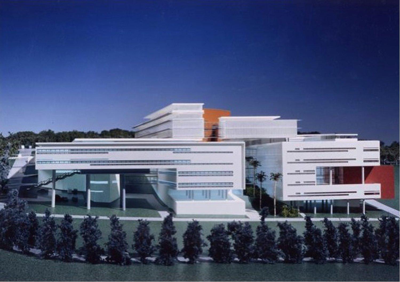 Maquette Aymeric Zublena (Scau Architecture-Paris), Ugo and Paolo Dellapiana (Archicura-Torino), Ugo Camerino (Venezia)}