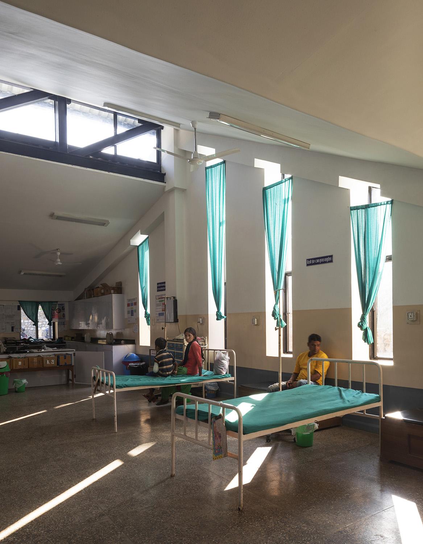 The interior of the Emergency Department. Elizabeth Felicella