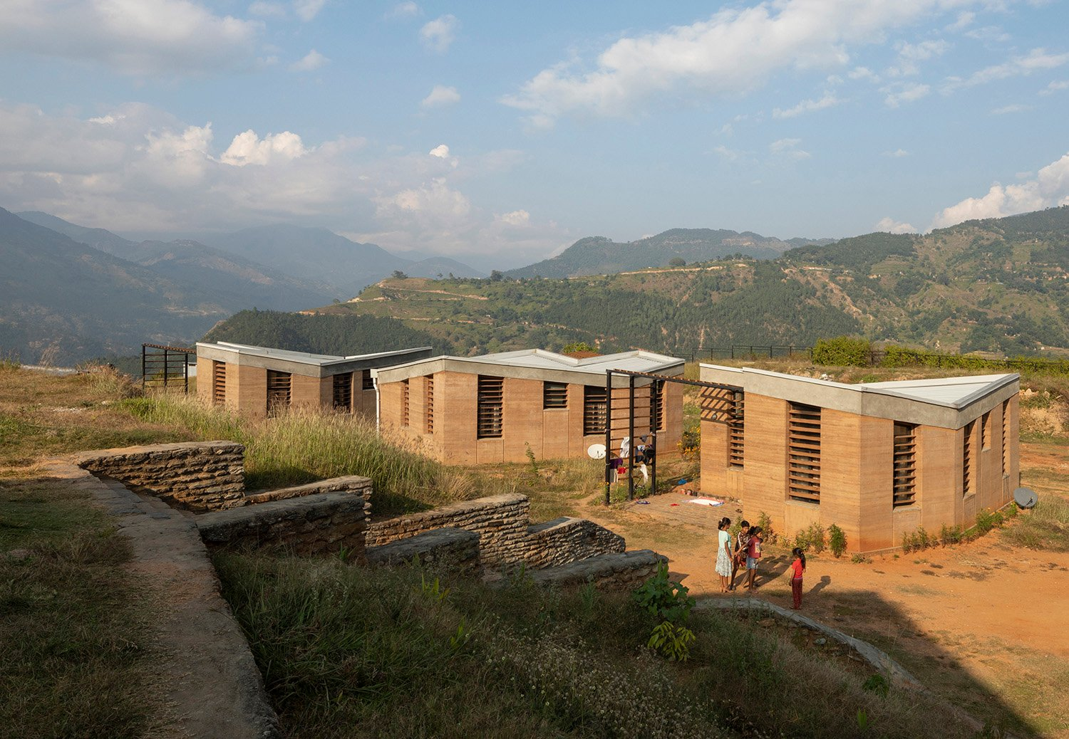 Ten staff houses provide accommodations for medical staff and their families. Elizabeth Felicella