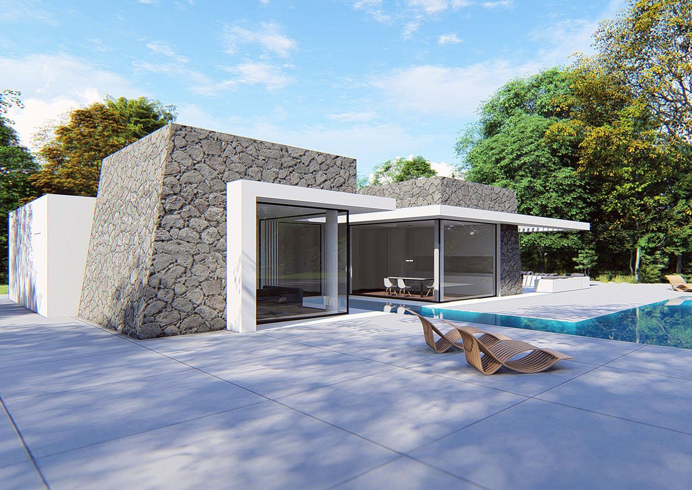 PROSPETTO SUD-EST Moduslab Architecture&Interior design