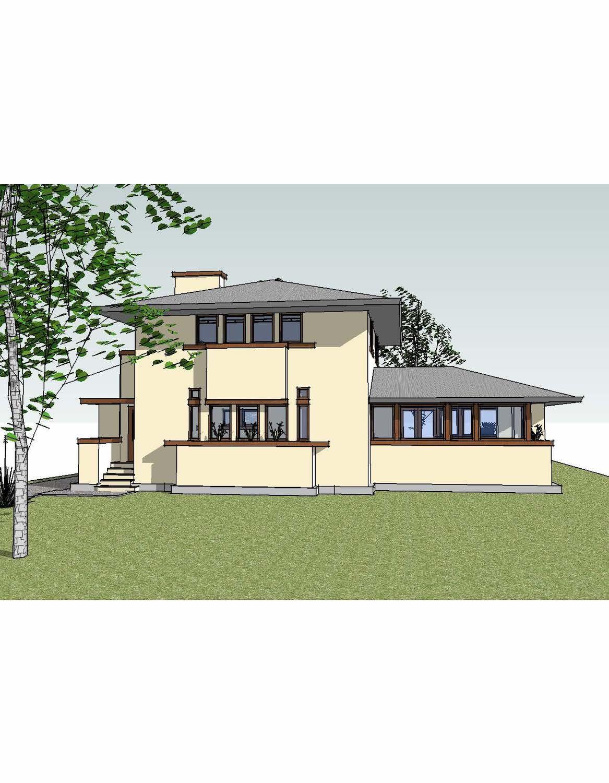 Rendering of Finished Ross House Eifler & Associates}