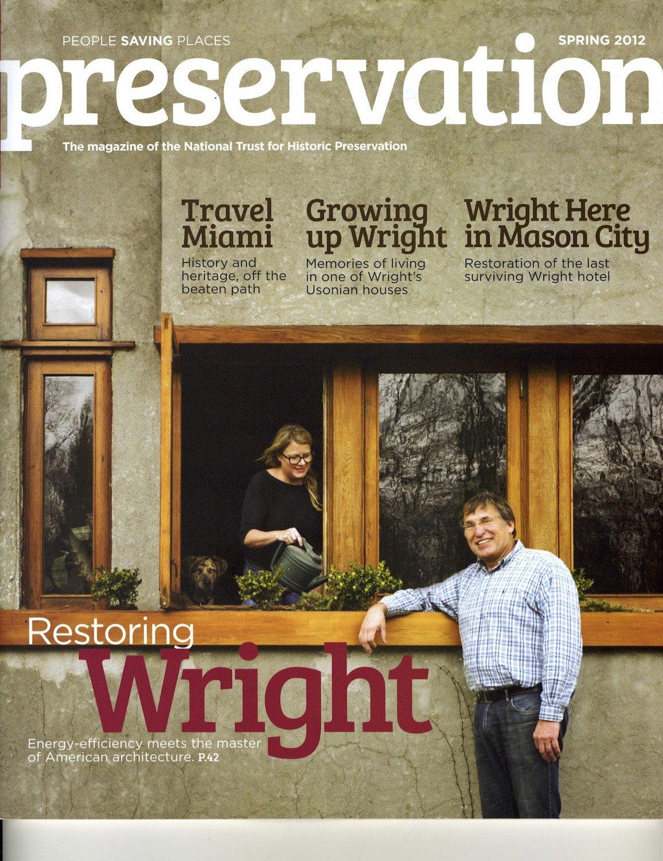 Preservation News Magazine Cover Preservation News}