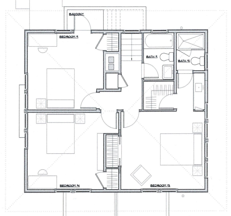 Second Floor Plan After Rehabilitation Eifler & Associates}
