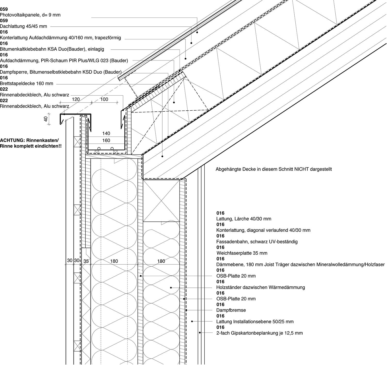 Roof section east Yonder - Architektur und Design}