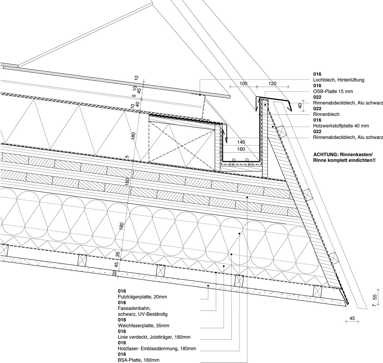 Roof section west Yonder - Architektur und Design}
