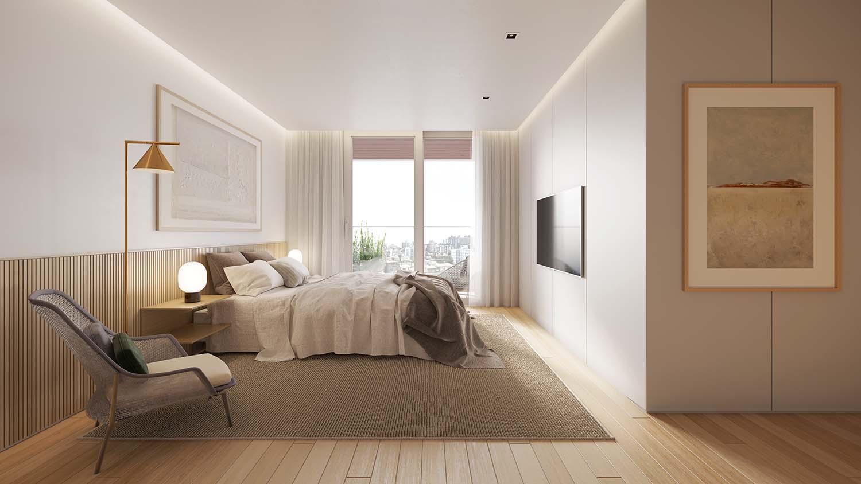 Master Room Vista Imagens