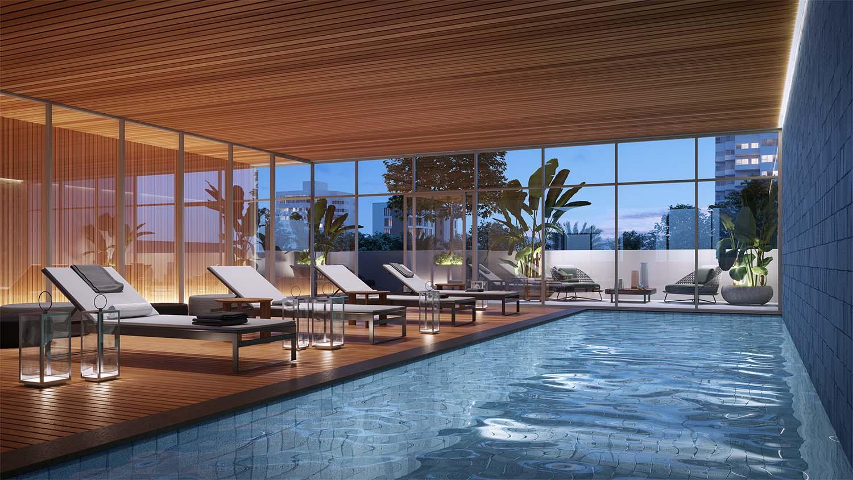 Swimming Pool Vista Imagens