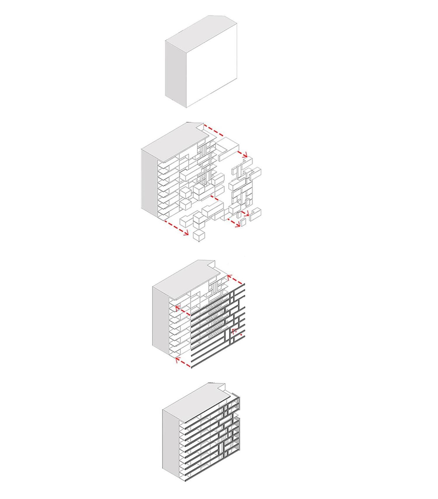 Volume Diagram Torres Arquitetos}