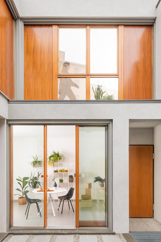 Il patio privato Federico Villa Studio