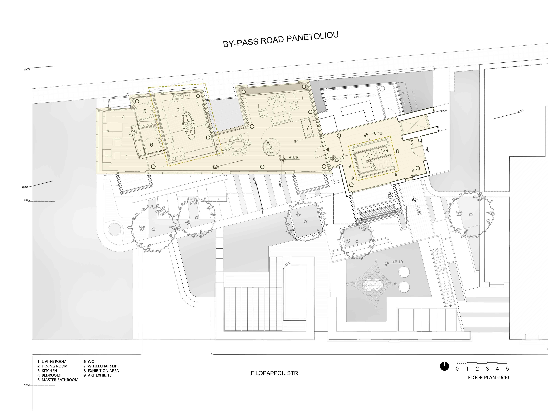 Plan Level +6.10 Yanniotis & Associates}
