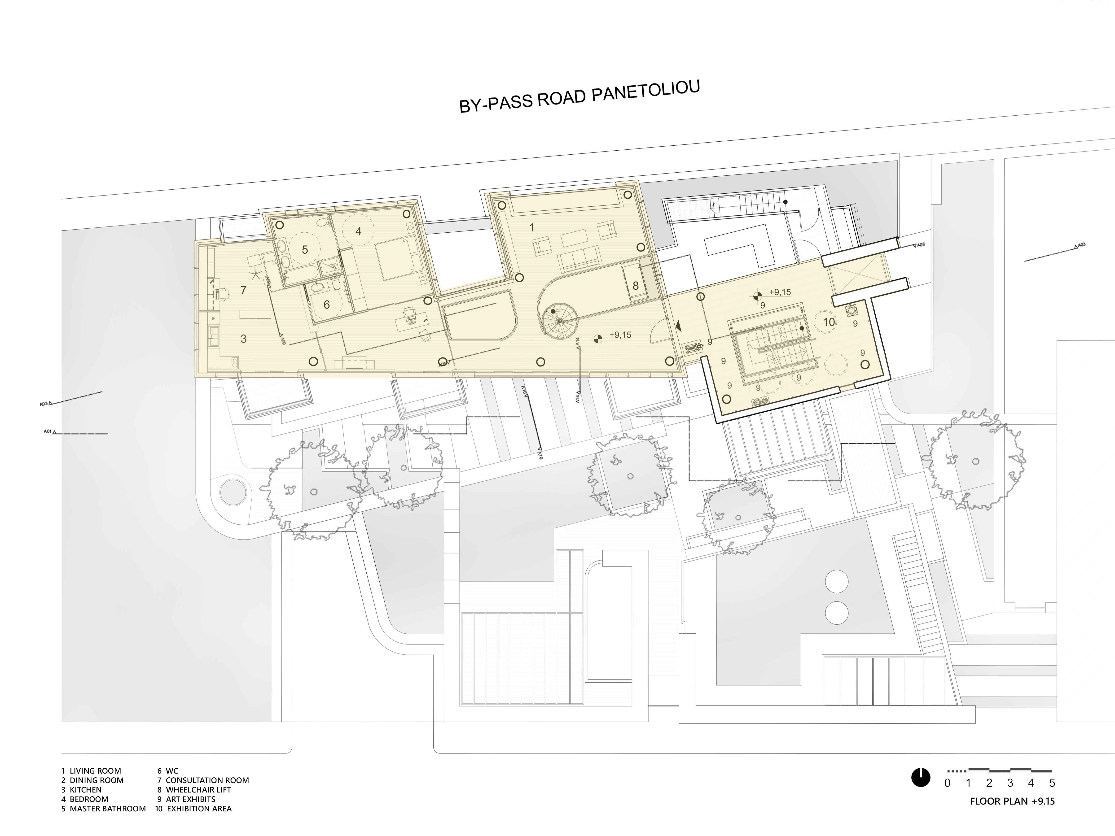 Plan Level +9.15 Yanniotis & Associates}
