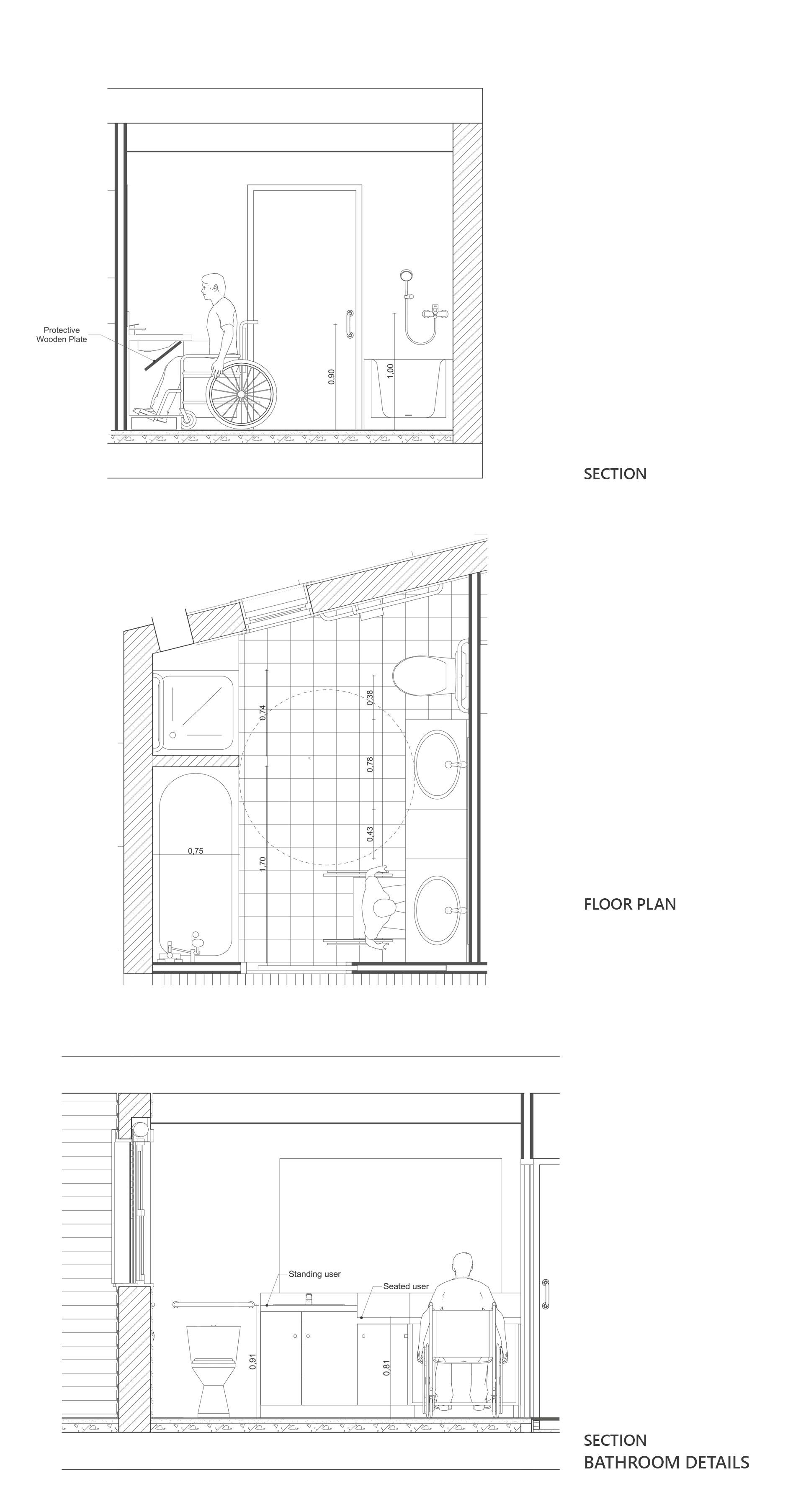 Universal Design Bathroom Yanniotis & Associates}