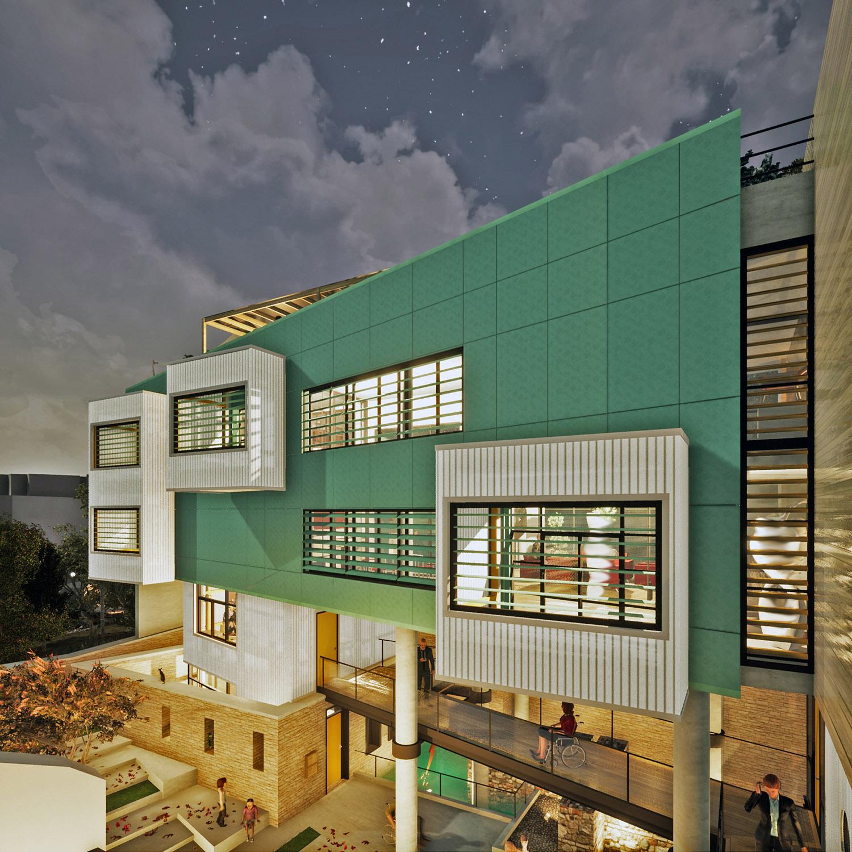 View of the Residential Unit 1 Yanniotis & Associates
